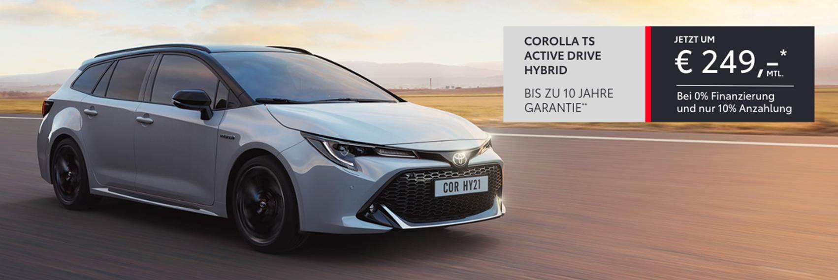 2021 Q2 Q3 Corolla